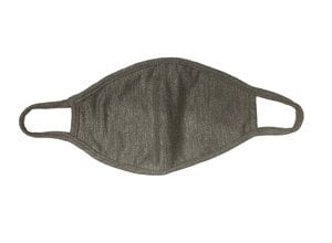 Heather gray Fashion Face Mask