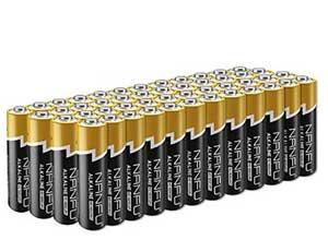 No Leakage Long Lasting AA 48 Batteries
