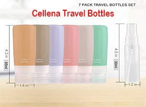 Silicone Travel Containers Bottle