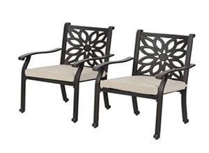 Aluminum Patio Dining Chairs