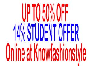 Student Offer At  Knowfashionstyle