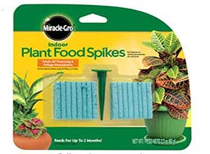 Miracle-Gro Indoor Plant Food Spikes