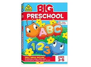 Big Preschool Workbook Paperback