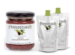 Free sample of Kalamon Olive Tapenade