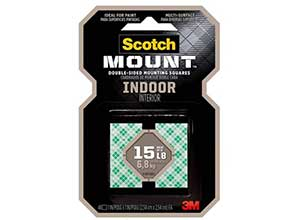 Scotch Indoor Mounting Squares