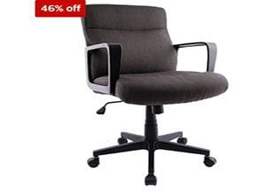 Staples Brookmere Fabric Manager Chair