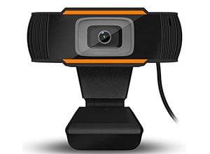 HD Webcam with Dual Microphones