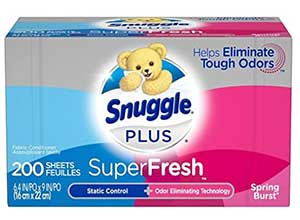 Snuggle Plus SuperFresh Fabric Softener