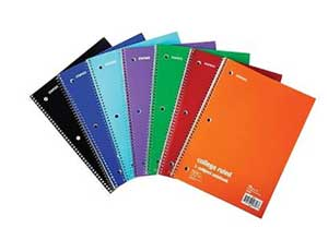 Staples 1-Subject Notebook