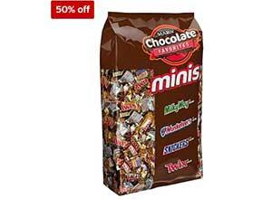 Minis Size Chocolate Bars