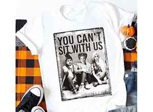Hocus Pocus T-Shirt Tee-White