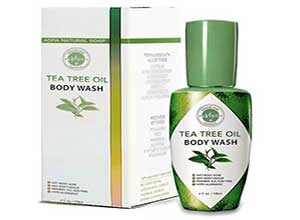 Tea Tree Oil Body Wash Sample