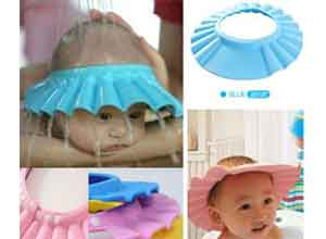 Adjustable Baby Bathing Shower Cap