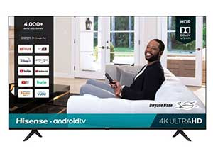 Hisense 55 inch Class H65 LED 4k UHD Android TV