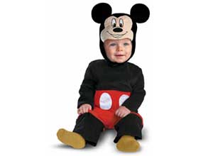 Disguise Disney Mickey Mouse Halloween Costume
