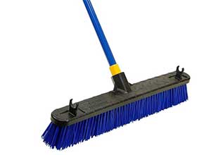 Quickie Bulldozer 24inch Rough Surface Pushbroom