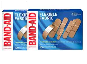 Band-Aid Fabric Adhesive Bandages