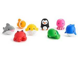 8 pack Munchkin Ocean Squirts Bath Toys