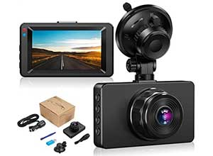 Dashboard 3 inch Camera with Night Vision