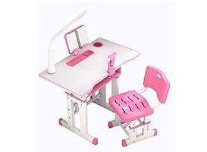 Kids Height Adjustable Table and Chair Set