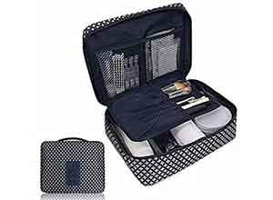 Cosmetic Toiletry Travel Kit Organizer
