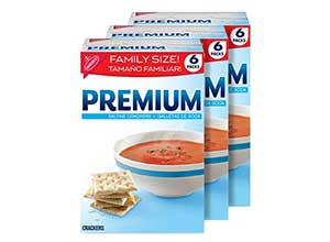 Premium Saltine Crackers