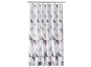 MoDRN Scandinavian Triangle Shower Curtain