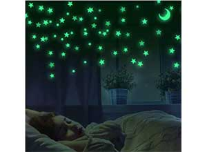 The Dark Stars and Moon for Kids Bedroom