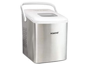 Igloo Stainless Steel Ice Maker Machine