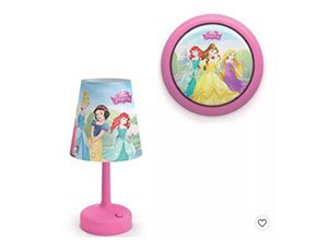 Philips Disney Princess Table Lamp and Night Light