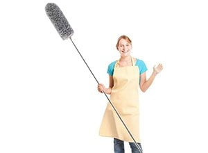 Microfiber Duster with Bendable Head and 100 inch Pole
