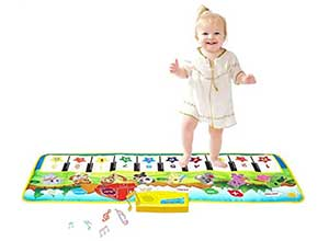M SANMERSEN Kids Piano Music Mat
