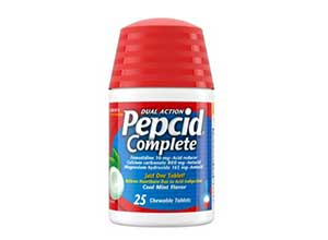 Pepcid Complete Dual Action Chewable Tablets