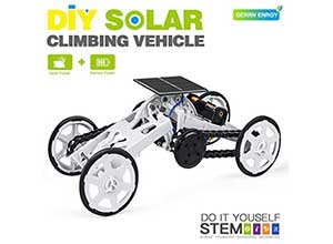 Solar Powered 4WD Robotic Motor Car Set