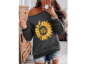 Sunflower Long Sleeve Sweatshirt