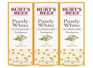 Burts Bees Fluoride Free Toothpaste