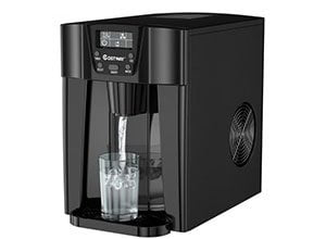2-In-1 Ice Maker Water Dispenser