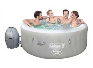 "Coleman SaluSpa 71"" x 26"" Inflatable Hot Tub"