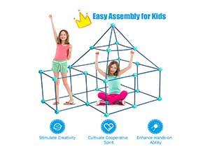 Kids Crazy Construction Fort Building Kit
