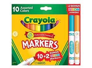 Crayola Markers Assorted Colors