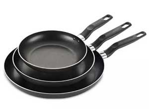 T Fal 3 Pc Fry Pan Set