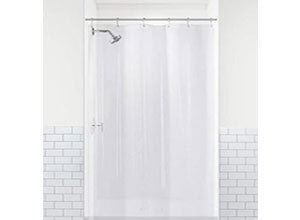 LiBa PEVA 8G Bathroom Shower Stall Curtain Liner