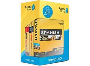 Rosetta Stone Learn Spanish Bonus Pack