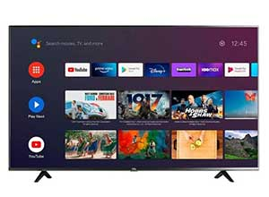 TCL 50inch Class 4 Series UHD Smart Android TV