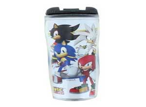 Sonic The Hedgehog Main Group Tumbler
