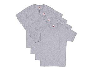Hanes Mens ComfortSoft Short Sleeve T-Shirt