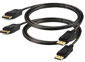 DisplayPort Cable 6ft 2-Pack