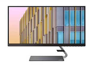 Lenovo Q24h-10 23.8-inch QHD USB-C LCD Monitor
