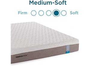 Tempur Pedic Prima M-Soft Full White Mattress