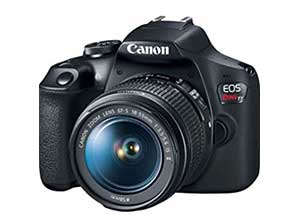 Canon EOS Rebel T7 DSLR Camera with lens